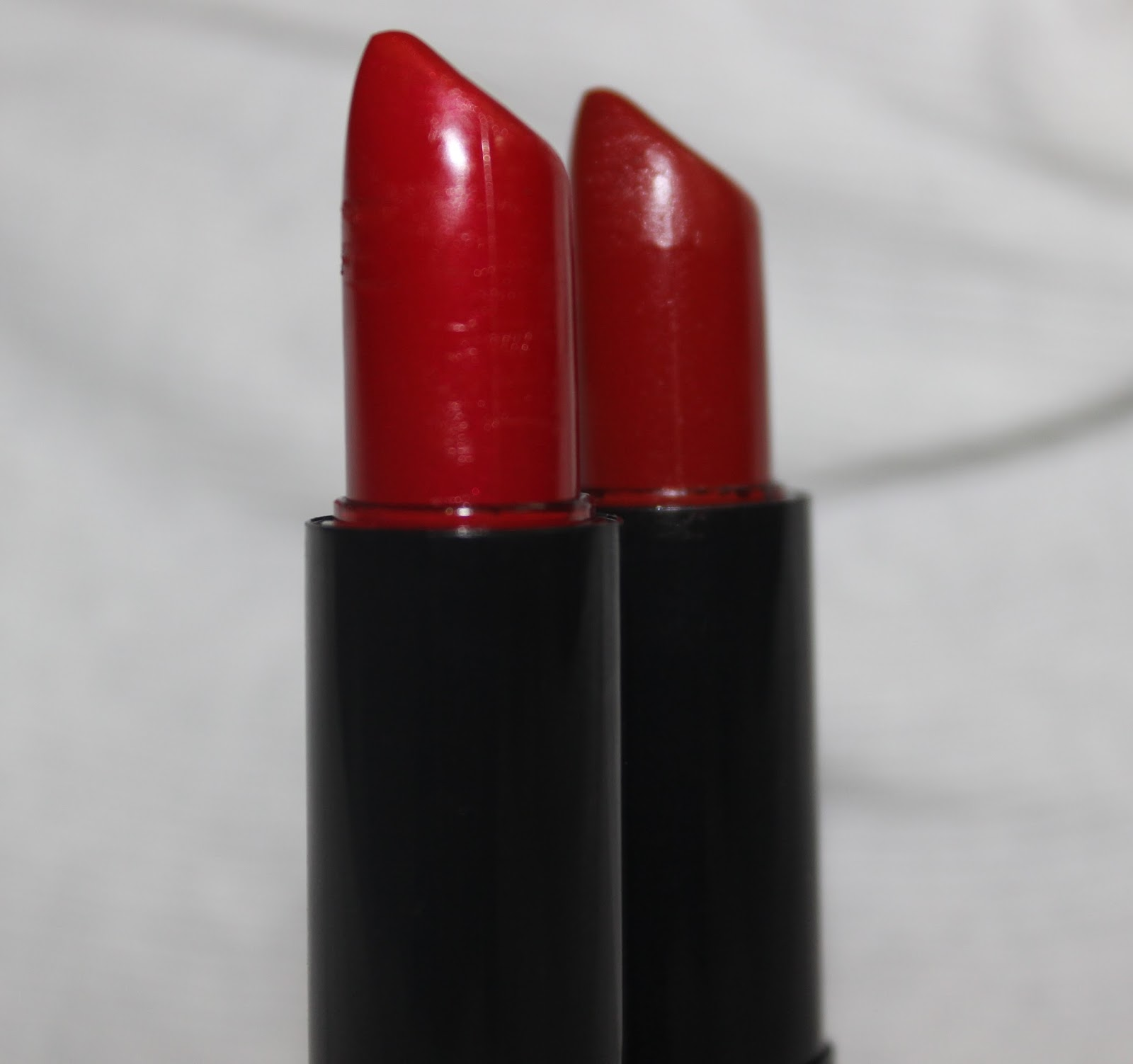 NYX Round Lipsticks in Electra & Chaos; Review & Swatches ...  NYX Round Lipst...
