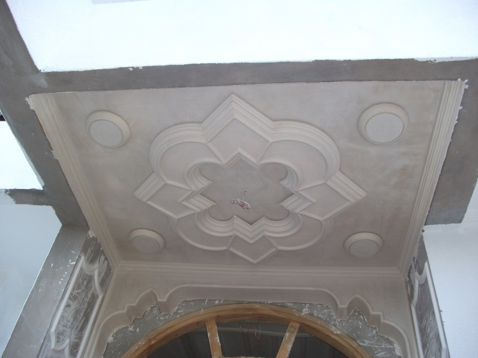 Decoration plafond platre id es de for Decoration des plafonds