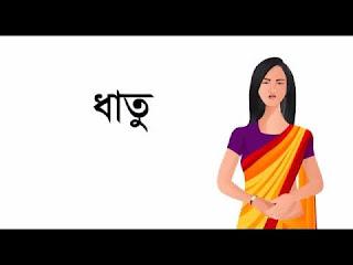 বাংলা ব্যকরণ : ধাতু