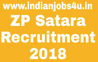 ZP Satara Recruitment 2018