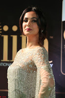Sonal Chauhan in a stonework Floor Length Silver Designer Gown at IIFA Utsavam Awards March 2017 036.JPG