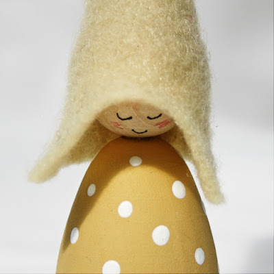 Yellow spots Cornish Pixie Elf