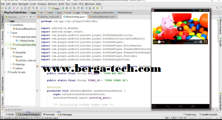 Android streaming server source code