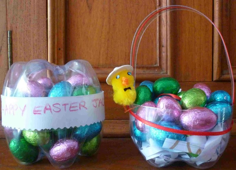 Innovative Easter Basket From Waste Water Bottle Creative Useful