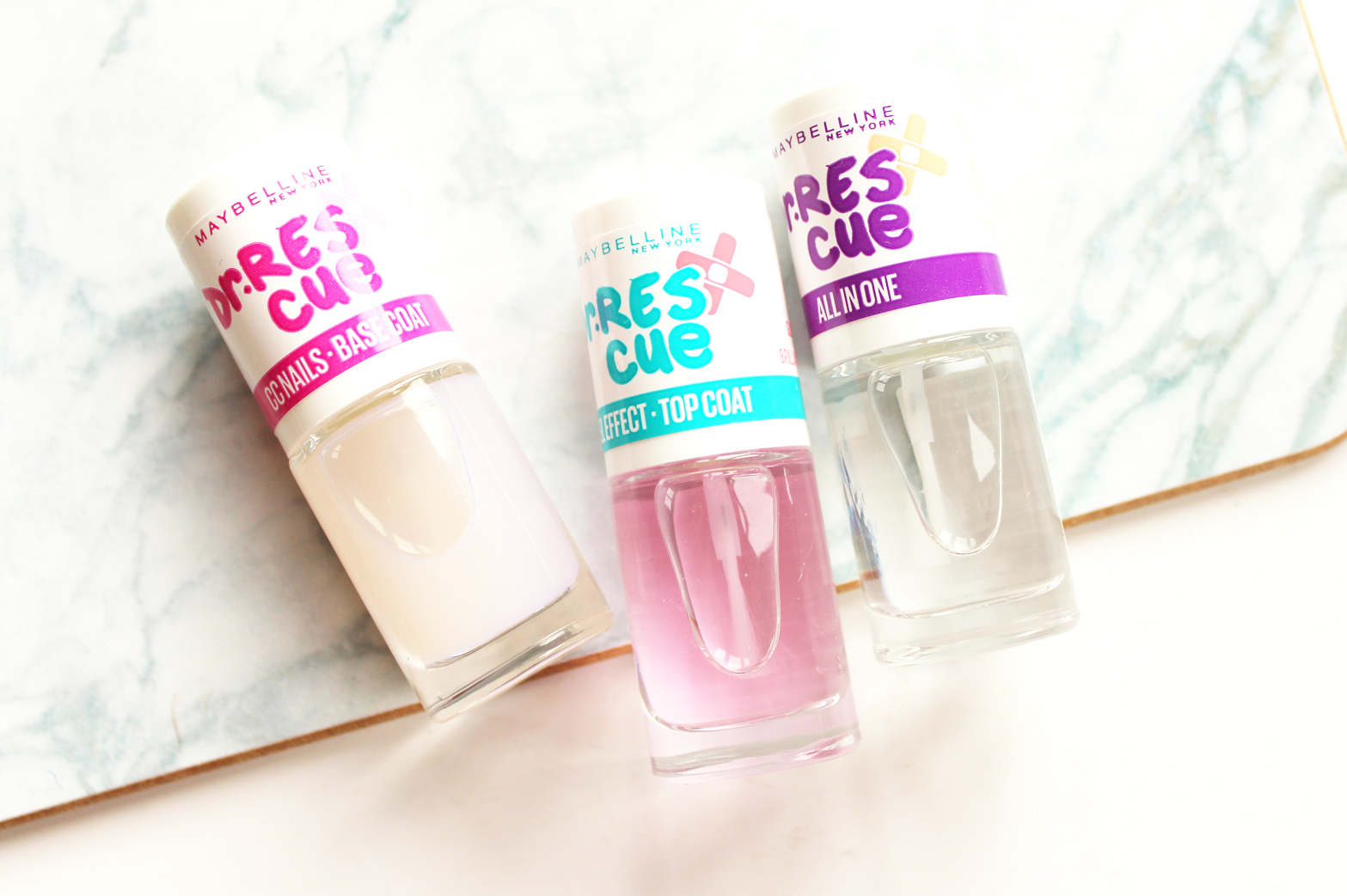 MAYBELLINE | New Releases to NZ - Dr. Rescue Nail Care - CassandraMyee