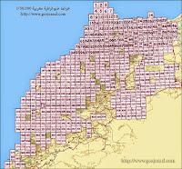 cartes topographiques du maroc echelle 50000