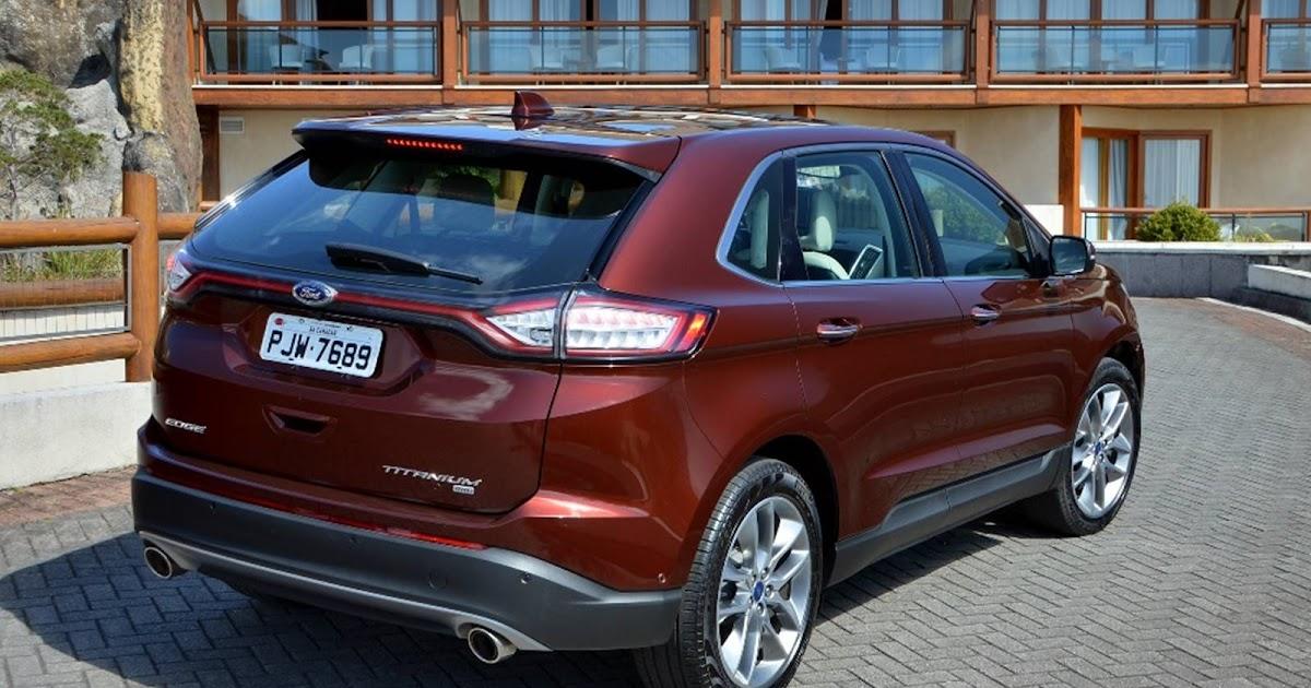 Ford Edge 2017: preço, vídeo, consumo e especificações