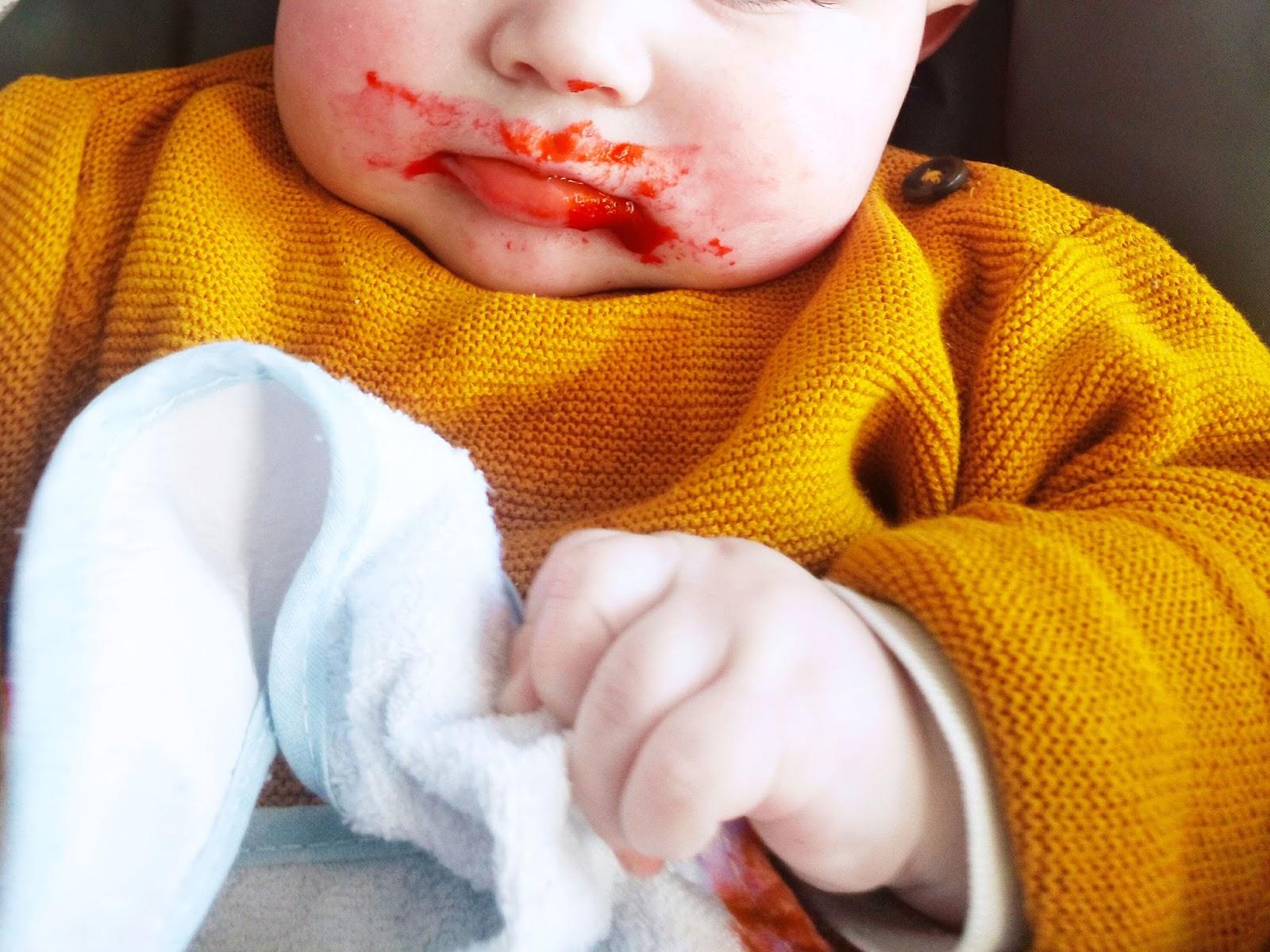 6 mois d'alimentation pour bébé victor