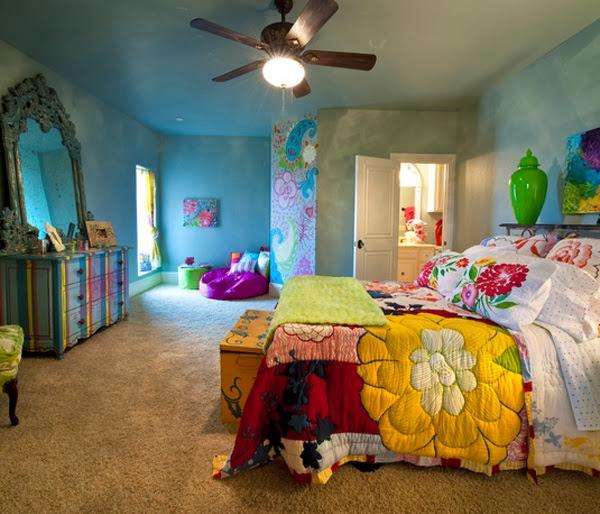 chambre esprit boheme chic. Black Bedroom Furniture Sets. Home Design Ideas