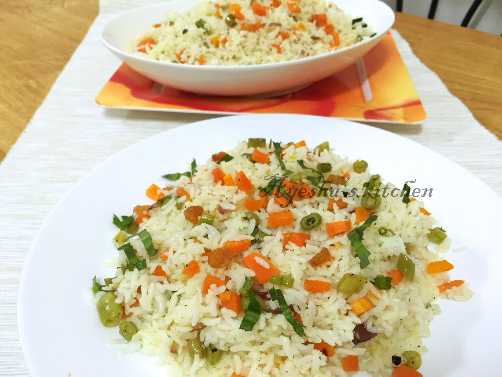 Fried rice recipe vegetable fried rice vegetable fried rice ccuart Choice Image