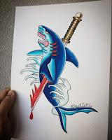 акула тату