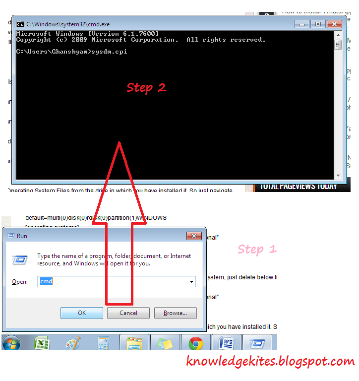 Remove dual Operating system from your PC or Laptop step 2
