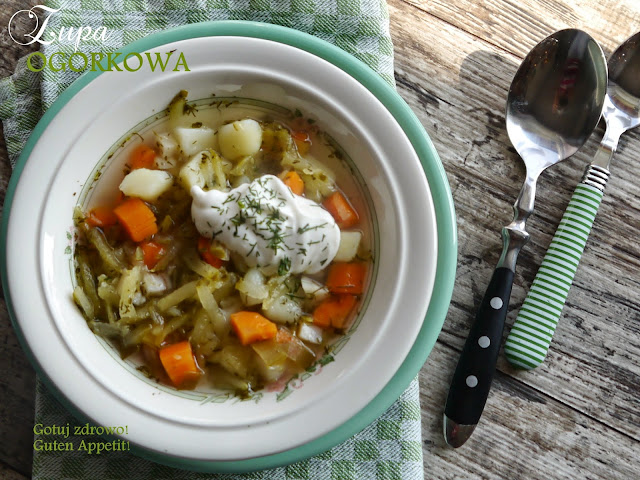 Zupa ogórkowa - Czytaj więcej »