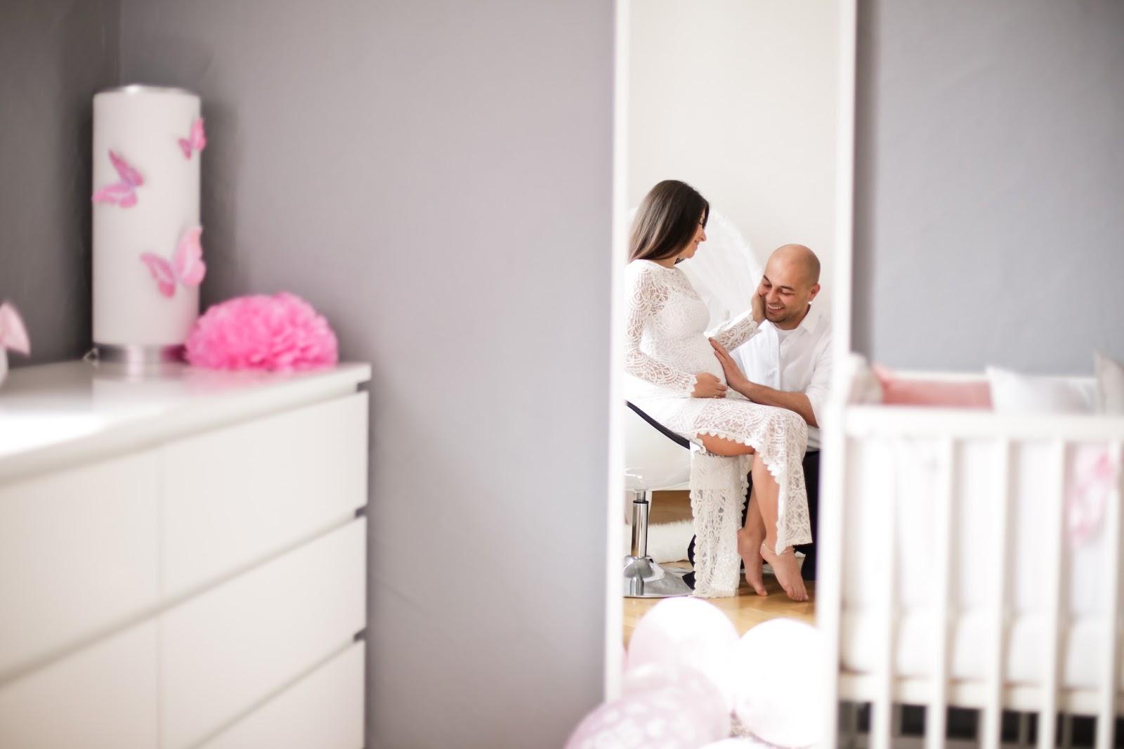 bebek odasında photo shooting