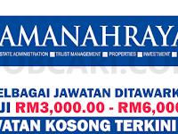 JAWATAN KOSONG TERKINI DI AMANAH RAYA BERHAD ARB - GAJI RM3,000.00 - RM6,000.00