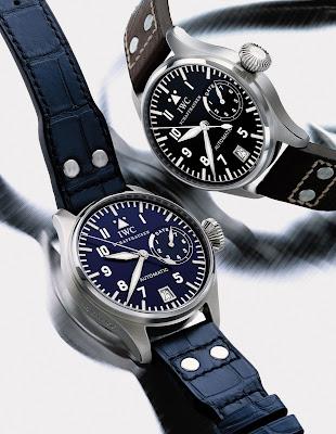 IWC Schaffhausen Big Pilot's Watch Ref. 5002 steel and platinum models