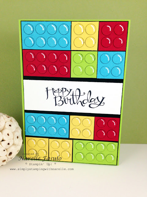 Freshly Brewed Projects - Lego - For the Boys - Sassy Salutations - Simply Stamping with Narelle - order here http://www3.stampinup.com/ECWeb/default.aspx?dbwsdemoid=4008228