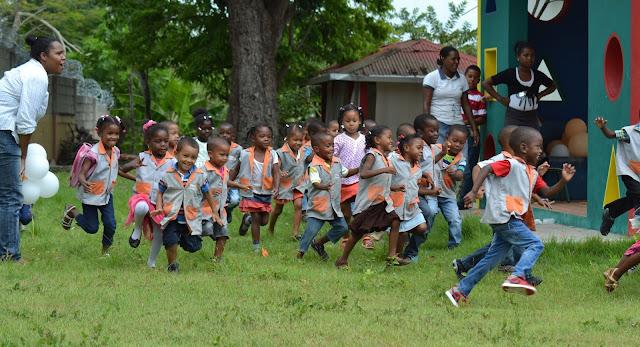 Niños Beneficiados en World Vision.