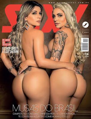 Revista Sexy: Musas do Brasil Janeiro 2018