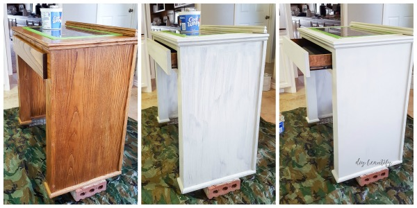 painting base cabinet