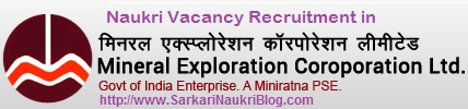 Naukri Vacancy Recruitment MECL