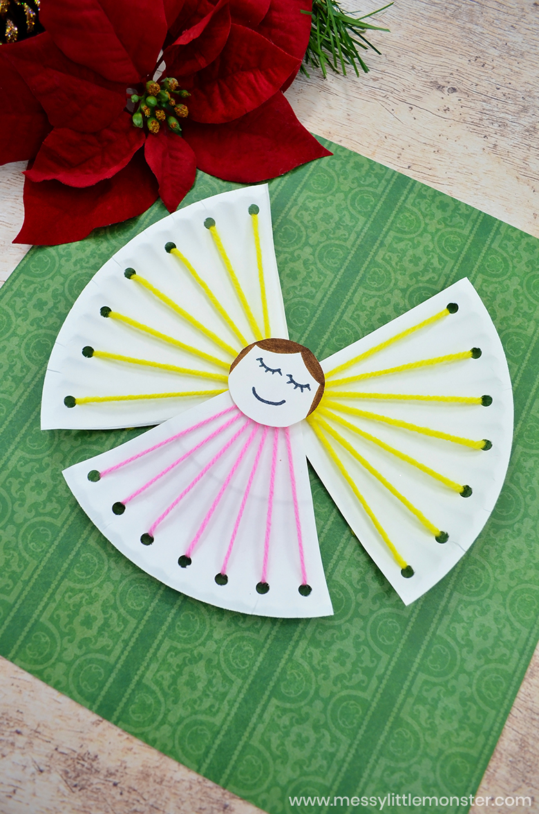 Paper Plate Angel Craft for Kids