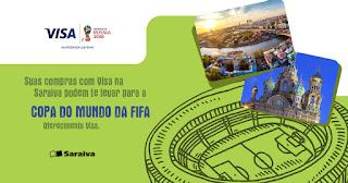 Promoção Visa e Saraiva Copa do Mundo 2018