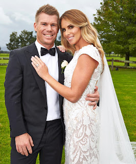 David Warner And Candice