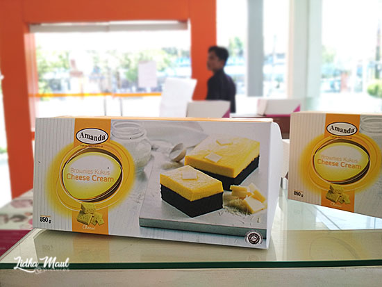 Amanda Brownies Balikpapan - Cheese Cream