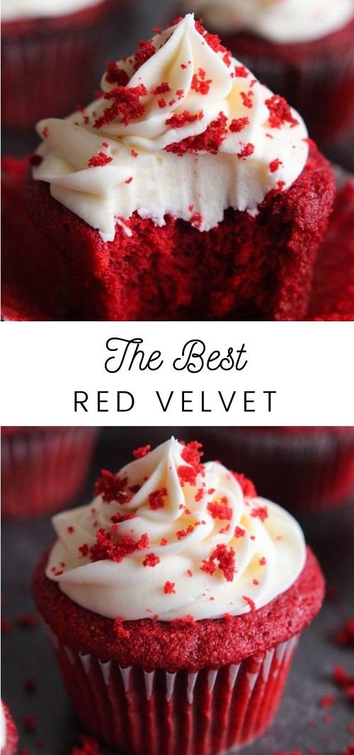 The Best Red Velvet Cupcakes
