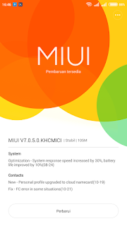 Miui 7 notification for redmi 1s
