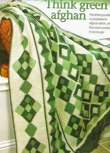 Patrones afganos | Dos Agujas y Crochet