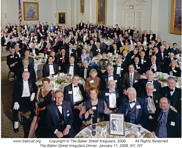 The 2008 BSI Dinner group photo