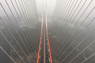See Photos Of The Tallest Bridge In The World, Equivalent To A 200 Storey Building (Photos)