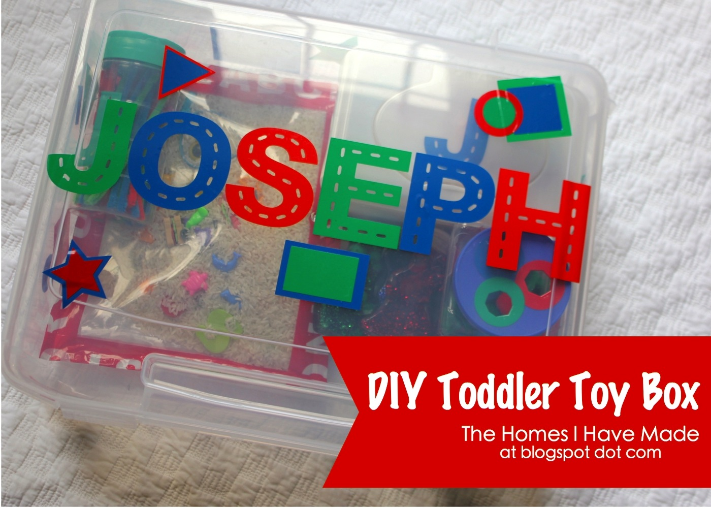 Diy Toddler Toys Part Ii The Homes I Have Made
