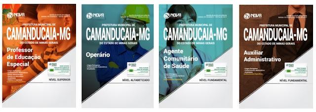Apostila digital concurso Prefeitura de Camanducaia 2018. Matérias Impressa ou Digital.