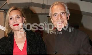 Γιώργος Κοτανίδης: Σπάνια εμφάνιση του ηθοποιού με την κόpη του