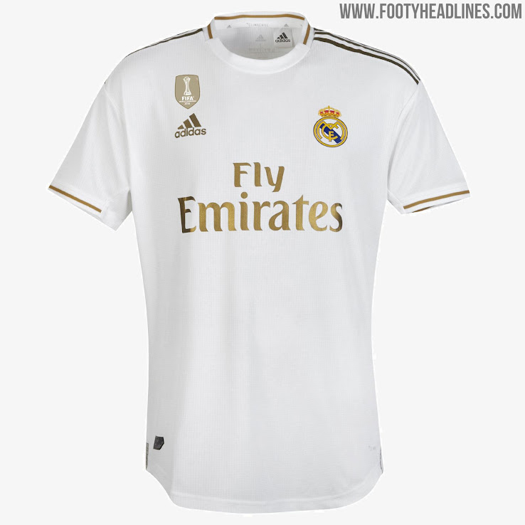 new arrival 25f83 7fe66 Real Madrid 19-20 Home Kit Released - Footy Headlines