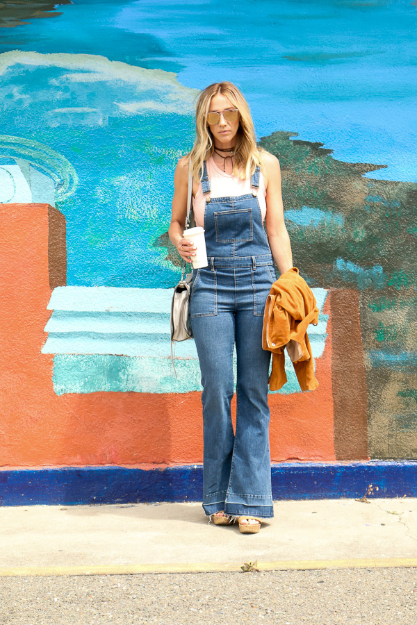 how to wear overalls for summer
