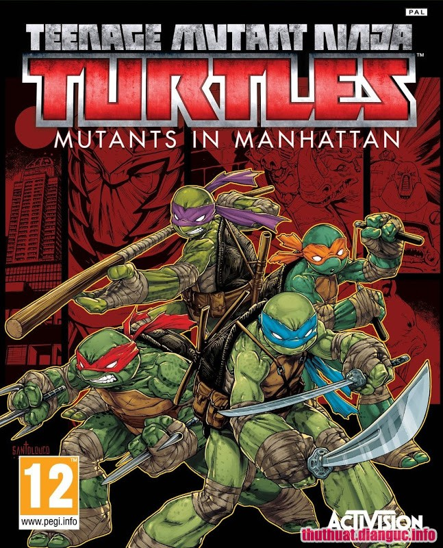 Download Game Teenage Mutant Ninja Turtles Mutants Full Cr@ck