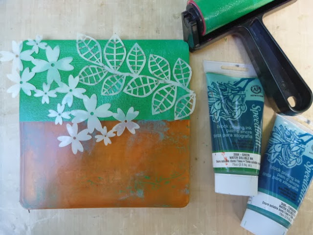 How to Use Stencils and Masks with a Gelli Plate