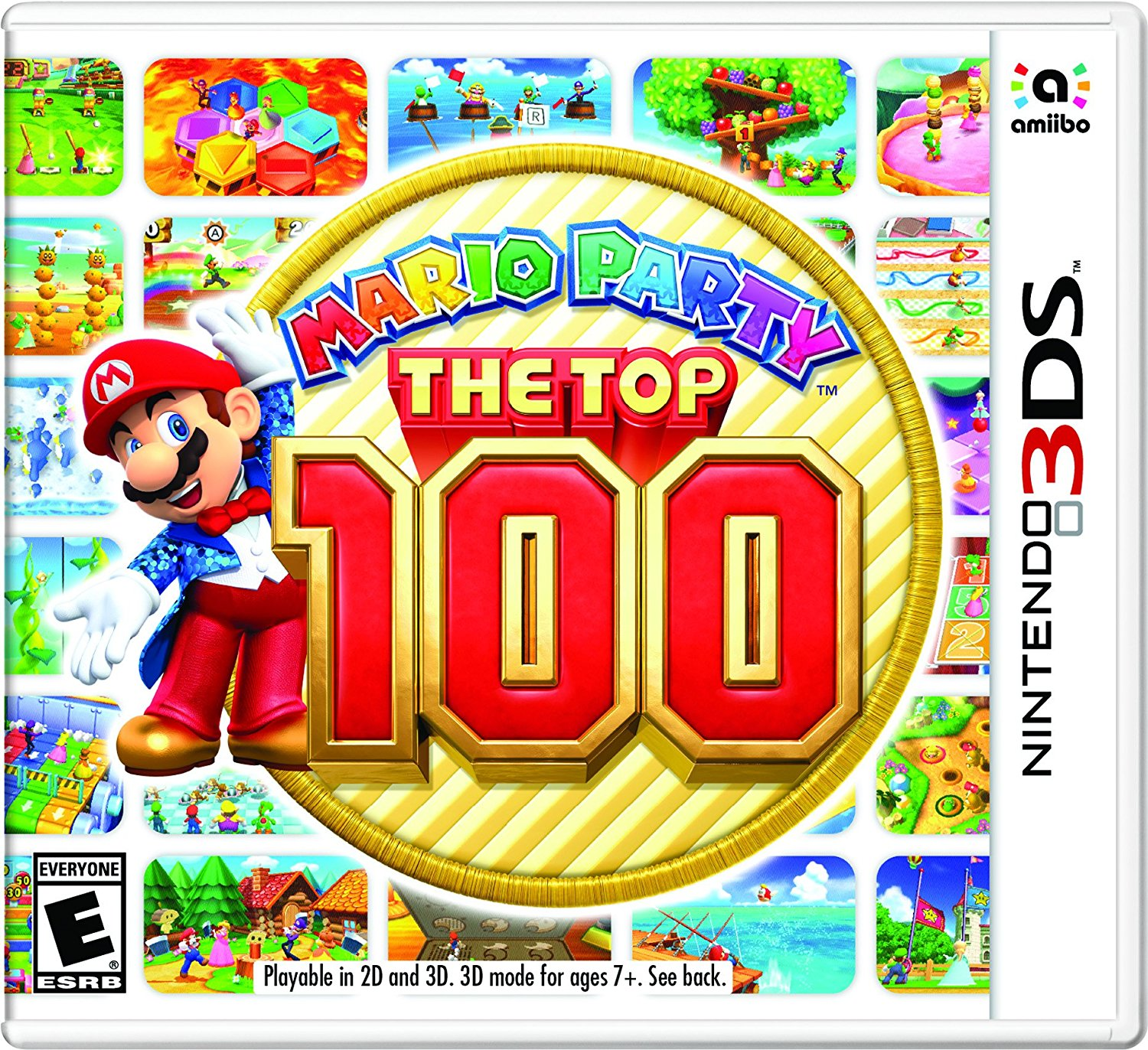 Mario Party: The Top 100 | Download 3DS CIAs