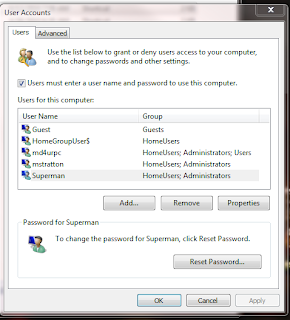 Cara Auto Login Windows 7
