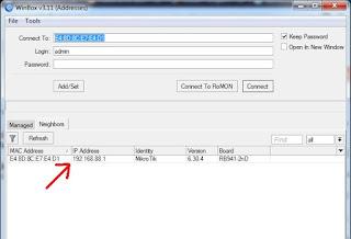 Cara mengatasi Tidak bisa login mikrotik via mac address sebab mac address mikrotik tidak  Mengatasi Mac Address Mikrotik Tidak Muncul Di Win Box