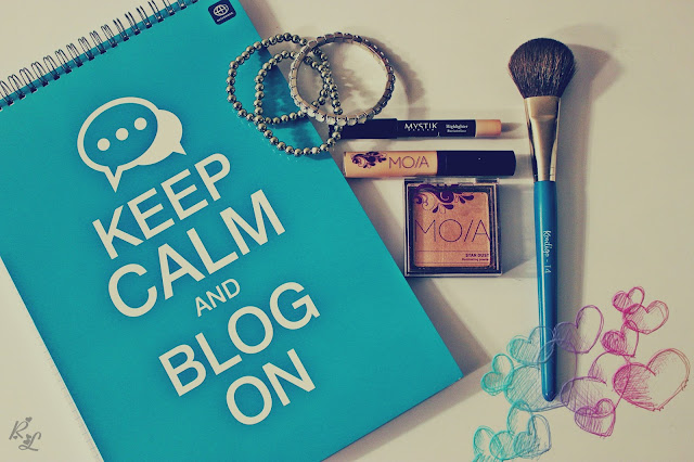 Keep calm and blog on...