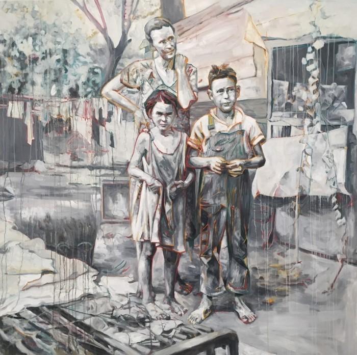 Китайский и американский современный художник. Hung Liu