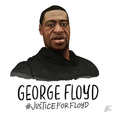 JUSTICE FOR GEORGE FLOYD #JUSTICEFORFLOYD