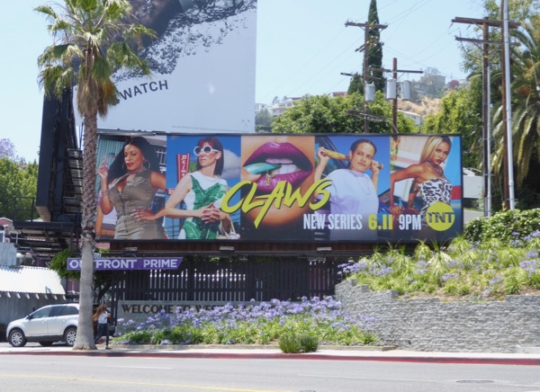Claws series premiere billboard