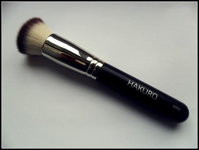 Recenzja pędzla Hakuro H50 + nowy wygląd bloga :)