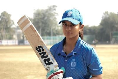 Jagran Lakecity University's cricket sensation: Tamanna Nigam, MAJMC 2rd sem, Jagran School of Journalism and Communication